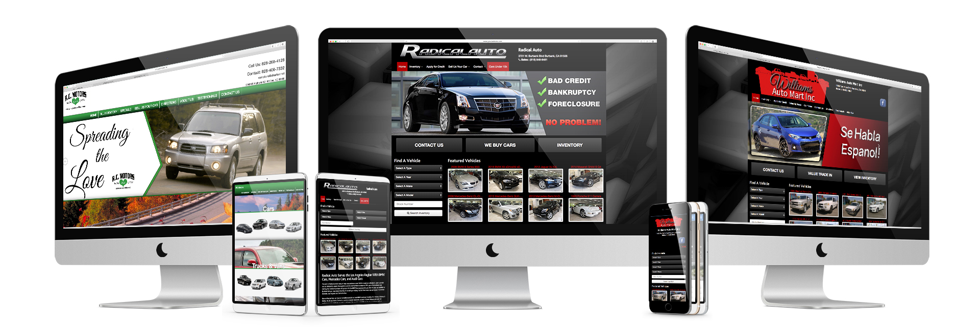 Used Car Dealer Websites | Custom Auto Dealer Websites | Used Car ...