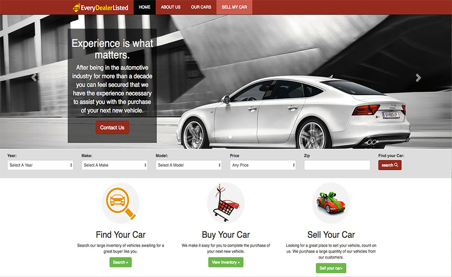 Automotive Classifieds | Classified Syndication | New Car Listing ...